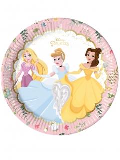 Disney™Prinzessinnen Partyteller 8 Stück bunt 23cm