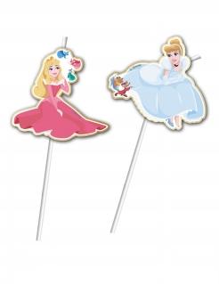 Strohhalm-Set Disney™-Prinzessinnen 6 Stück bunt