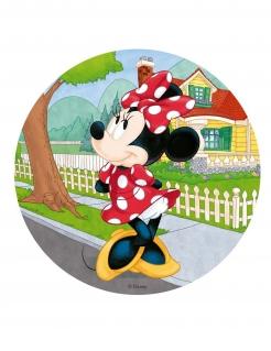 Minnie Maus™-Kuchenplatte Kuchendeko bunt 20cm