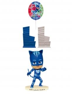 PJ Masks™-Dekoset 4-teilig blau-grau