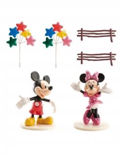 Mickey und Minnie Maus™-Kuchendeko 6 Stück bunt