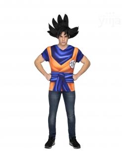 Dragon Ball Z™-T-Shirt für Herren Son Goku™ blau-orange