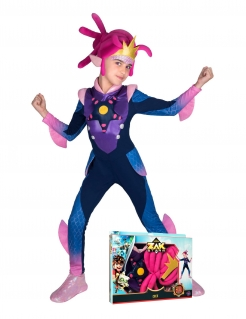 Cece-Kostüm für Kinder im Geschenkkoffer Zak Storm™ blau-pink