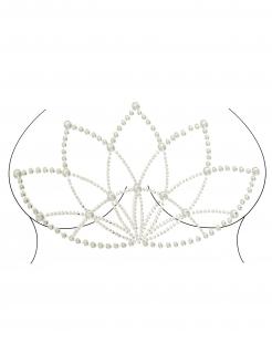 Strass-Steine für den Körper Lotus selbstklebend Make-up silber