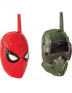 Spiderman™ Walkie Talkie Geschenkidee rot-grün