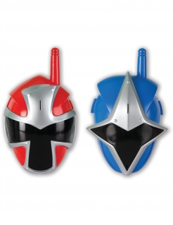 Power Rangers™ Walkie Talkie Spielzeug bunt