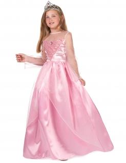 Prinzessinen-Kostüm für Mädchen Faschingskostüm rosa
