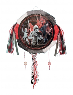 Star Wars™-Piñata Die letzten Jedi™ Partydeko rot-grau 45cm