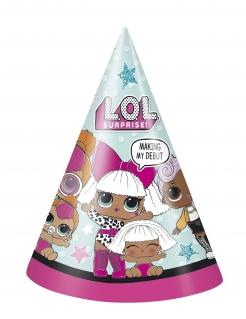LOL Surprise™-Geburtstagshüte 8 Stück bunt