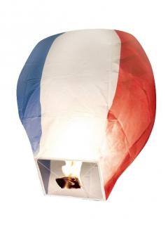 Flug-Lampion französische Flagge 50 x 90 cm
