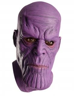 Thanos™-Latexmaske für Erwachsene violett