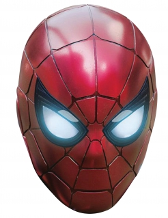 Iron Spider™-Pappmaske für Herren rot-schwarz