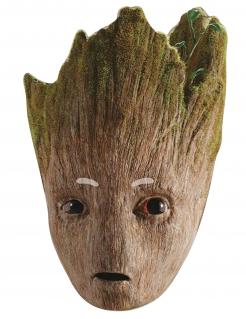 Groot™-Pappmaske Avengers Infinity War™ braun-grün