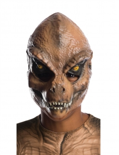Jurassic World™ T-Rex Dinosaurier-Maske Halloween-Accessoire braun