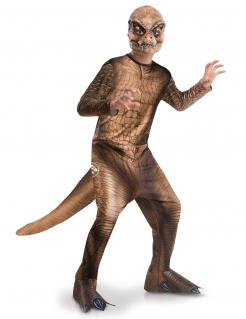 T-Rex-Verkleidung Jurassic World™ für Kinder Fasching braun