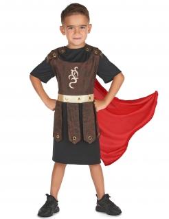 Gladiator-Kostüm für Kinder Faschingskostüm braun-schwarz-rot