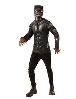 Black Panther™-Kostüm für Herren Infinity War™ schwarz