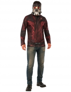 Star-Lord™-Herrenkostüm Guardians of the Galaxy™ rot-grau