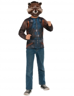 Rocket Raccoon™-Kostüm Guardians of the Galaxy™ blau-braun