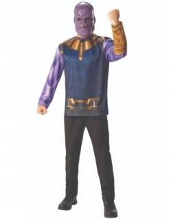 Thanos™-Kostüm Avengers™-Lizenzkostüm blau-lila-gold