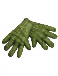 Hulk™-Handschuhe Infinity War™ Kostüm-Accessoire grün