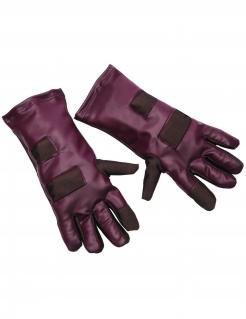 Star Lord™-Handschuhe für Erwachsene braun-burgunderfarben