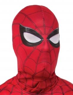 Spiderman™-Kopfbedeckung Kostüm-Accessoire rot-schwarz