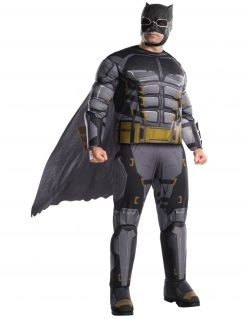 Batman™ Tactical Suit Justice League™ Übergröße schwarz-grau