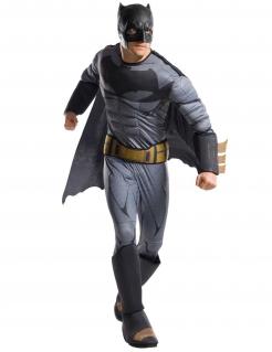 Batman™-Kostüm für Herren Justice League™ grau-schwarz-gelb