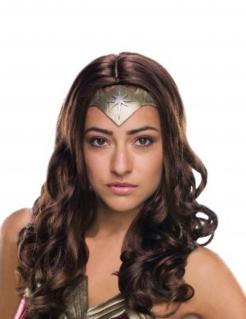 Wonder Woman™ Deluxe-Perücke für Damen braun