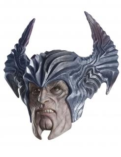 Steppenwolf™-Maske Justice League™ für Erwachsene grau-hautfarben