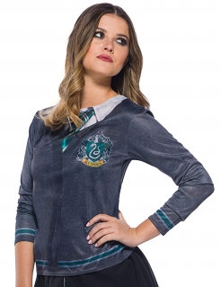 Slytherin™-Kostüm für Damen Harry Potter™ grau-grün