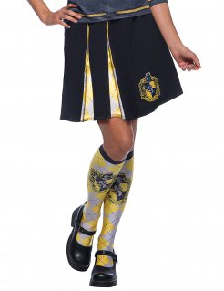 Hufflepuff-Damenrock Harry Potter™ schwarz-weiss-gelb