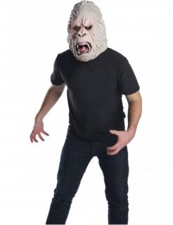 George™-Maske aus Rampage™ Gorilla-Maske für Erwachsene grau-rosa