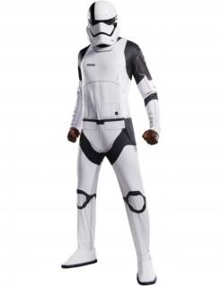 Stormtrooper™-Kostüm Der letzte Jedi™ Faschingskostüm weiss-schwarz