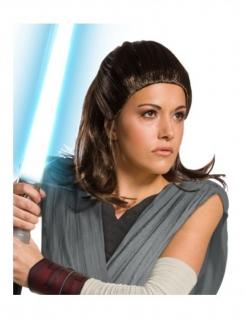 Rey Damenperücke The last Jedi™ braun