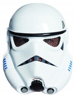 Stormtrooper™-Maske Star Wars™-Maske weiss-schwarz