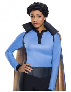 Lando Calrissian Perücke Star Wars™ für Erwachsene schwarz