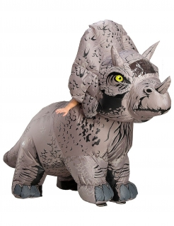 Triceratops-Kostüm ausblasbar Jurassic World The Fallen Kingdom™ grau