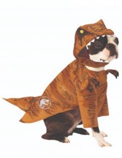 T-Rex Hundekostüm Jurassic World Fallen Kingdom™ braun-weiss-gelb