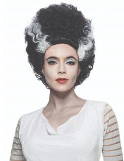 Verlobte von Frankensteins Monster™-Perücke für Damen Accessoire schwarz-weiss