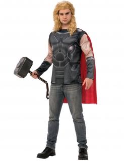 Thor™-Kostüm für Herren Marvel™ grau-rot