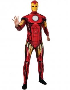 Iron Man™-Deluxekostüm Lizenzkostüm rot-gelb