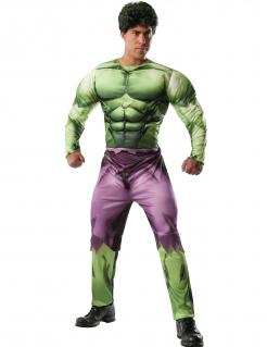 Hulk™-Deluxekostüm Faschingskostüm grün-lila