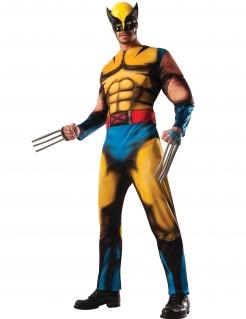 Wolverine™-Deluxekostüm für Herren X-Men™ gelb-blau