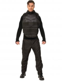 Grand Heritag Punisher™ Kostüm schwarz-grau