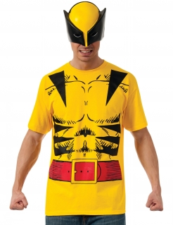 Wolverine™-Kostümset für Herren gelb-schwarz-rot