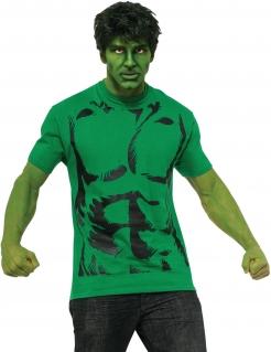 Hulk™-Kostüm Marvel™-Kostüm grün-schwarz