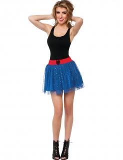 Spider Girl™-Petticoat Superhelden-Rock für Damen blau-rot-schwarz