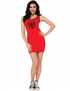 Spidergirl™-Kleid für Damen Marvel™ rot-schwarz